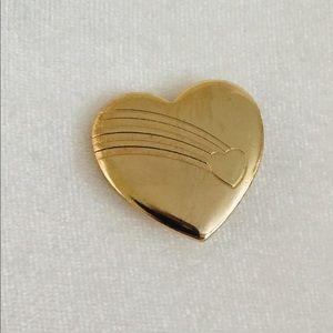 Heart and Rainbow Pin